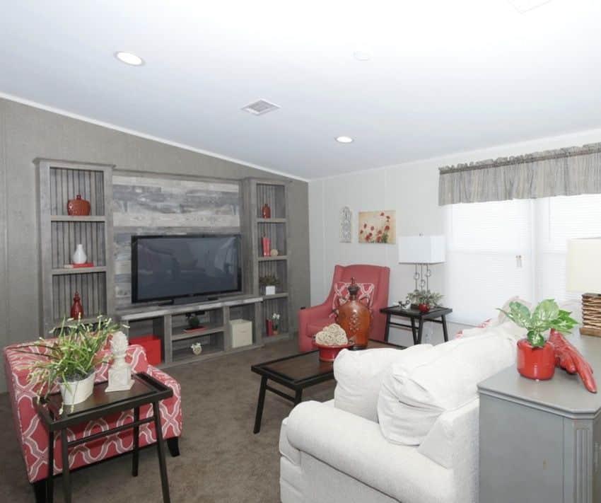 Oak Creek Homes Magnificient Seven Model Living Room 3
