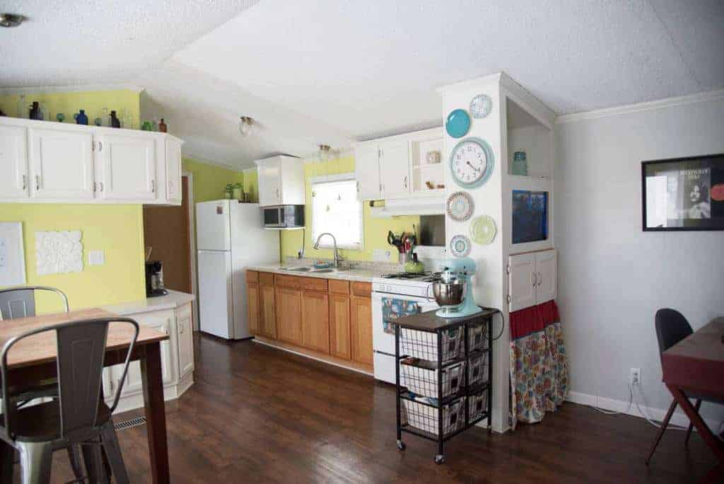 Pa mobile home for sale with beautiful cottage style kitchen