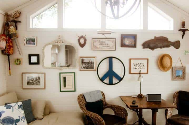 Park Model Home Decorating Ideas - Eclectic Industrial Chic