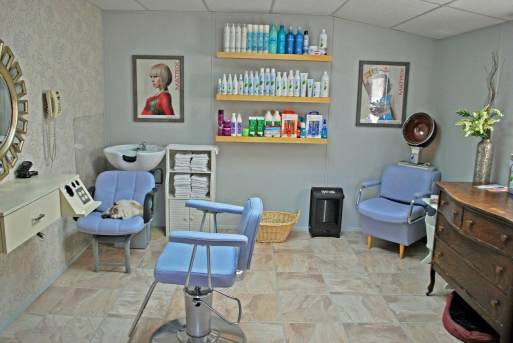 In-home salon built onto a manufactured home