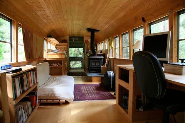 9 awesome vintage buses converted into beautiful mobile homes rh mobilehomeliving org bus conversion into home bus into homeless shelter