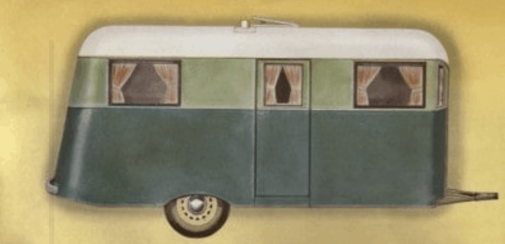 Covered Wagon- vintage mobile homes