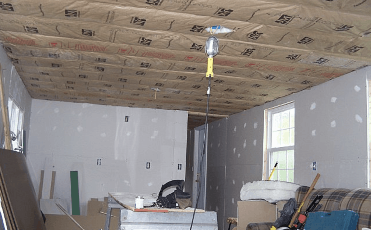 new insulation in mobile home