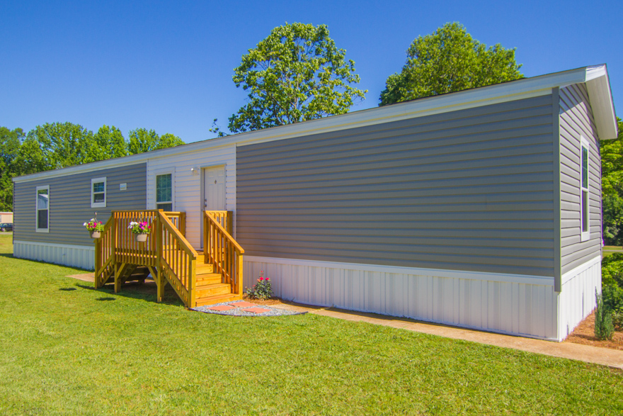 Single wide manufactured homes fox creek exterior