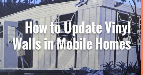 update vinyl walls in mobile home banner