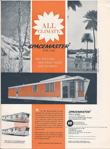 Spacemaster Mobile Home Ad