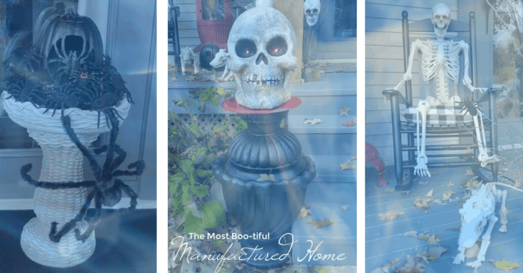 Spooky manufactured home
