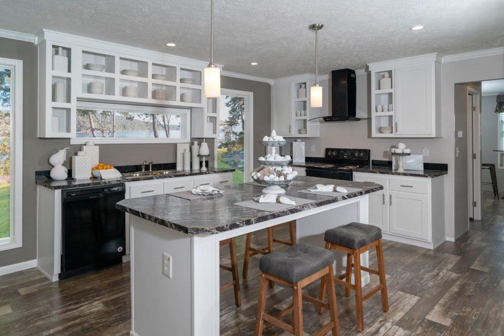 Spruce pine kitchen