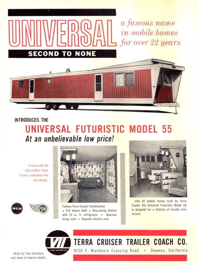 Terra cruiser universal futuristic model 55 1