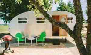 The Vintages - travel trailer rental 2