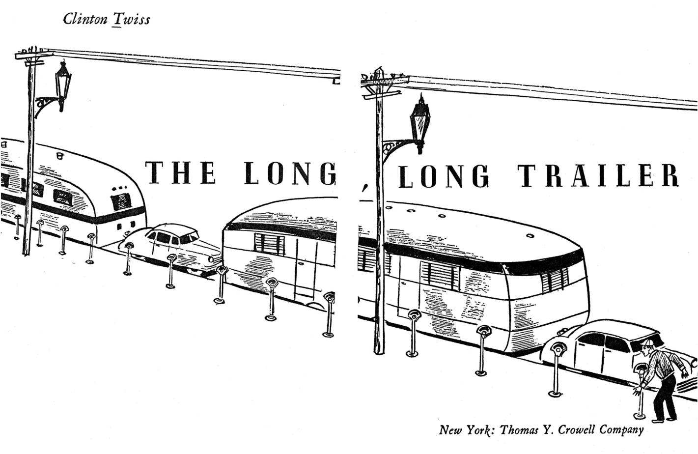 The long long trailer book illustration