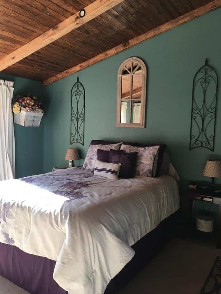 Tracey fields double wide manufactured home remodel bedroom