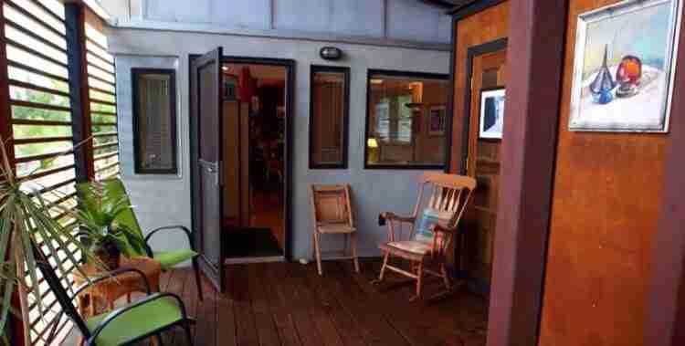 TrailerWrap Project front porch