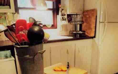 Vintage-Farmhouse-Decor-in-a-Mobile-Home-kitchen-remodel-center-island-500x667