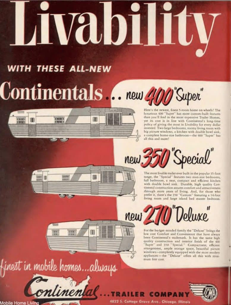 Vintage Mobile Home Ads From Mobile Homes Yearbook