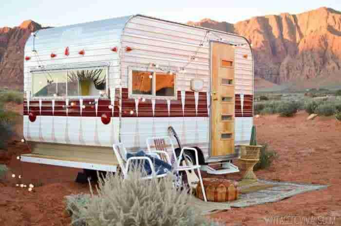 vintage travel trailer restoration