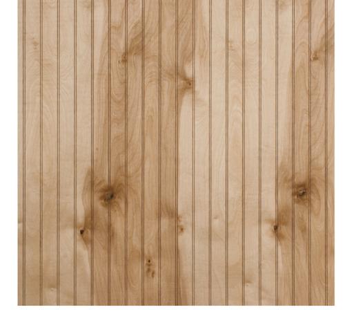 Wood-beadboard Panels