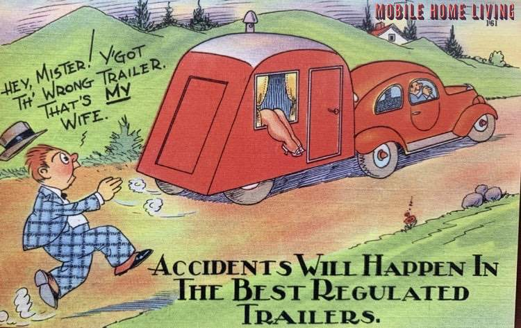 Accidents will happen postcard 2