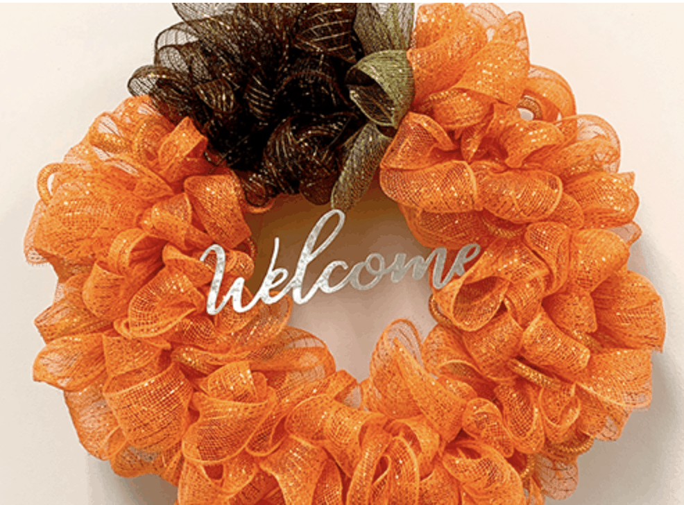 Affordable Halloween Decorations Wreaths 00001