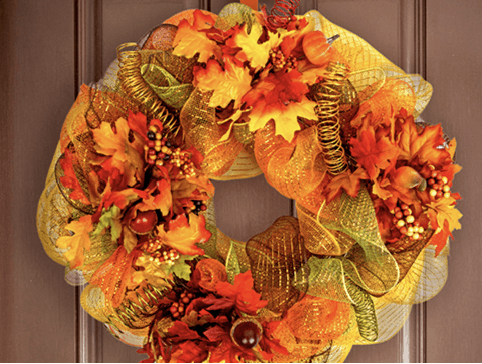 Affordable Halloween Decorations Wreaths 00004