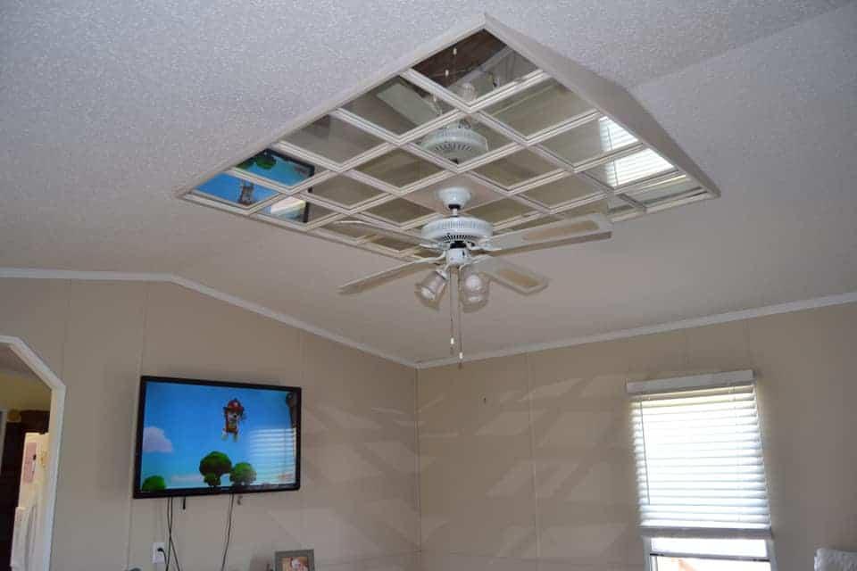 Alabama ceiling mirror