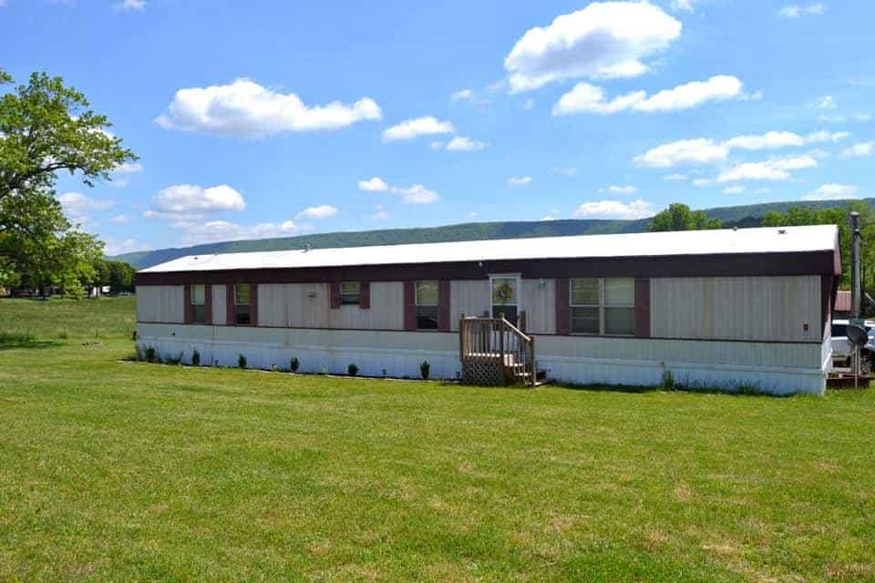 single wide mobile homes-Alabama Exterior