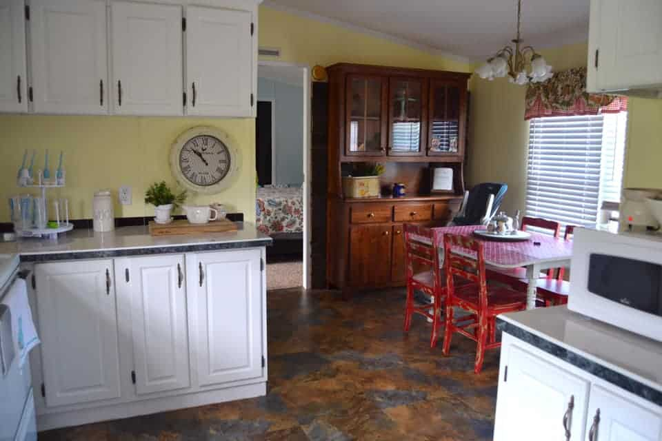 Single wide mobile homes-alabama kitchen dining room combo