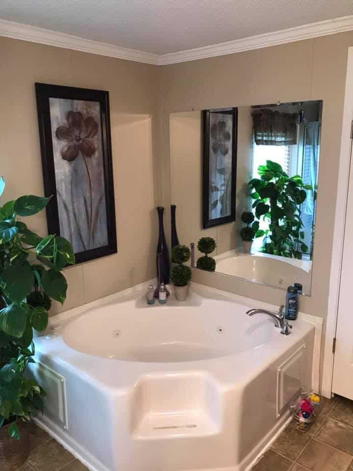 Alabama single wide master tub