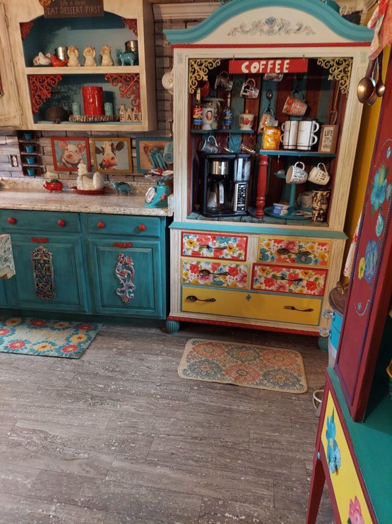 Artists coffee station