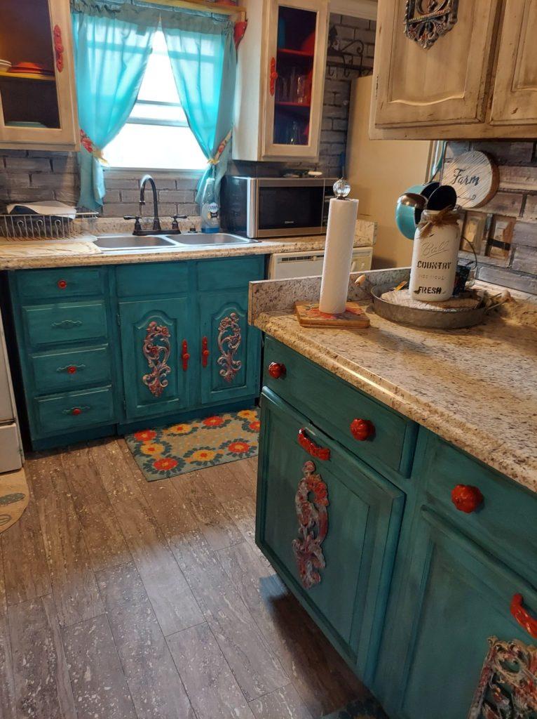 Artists kitchen cabinets