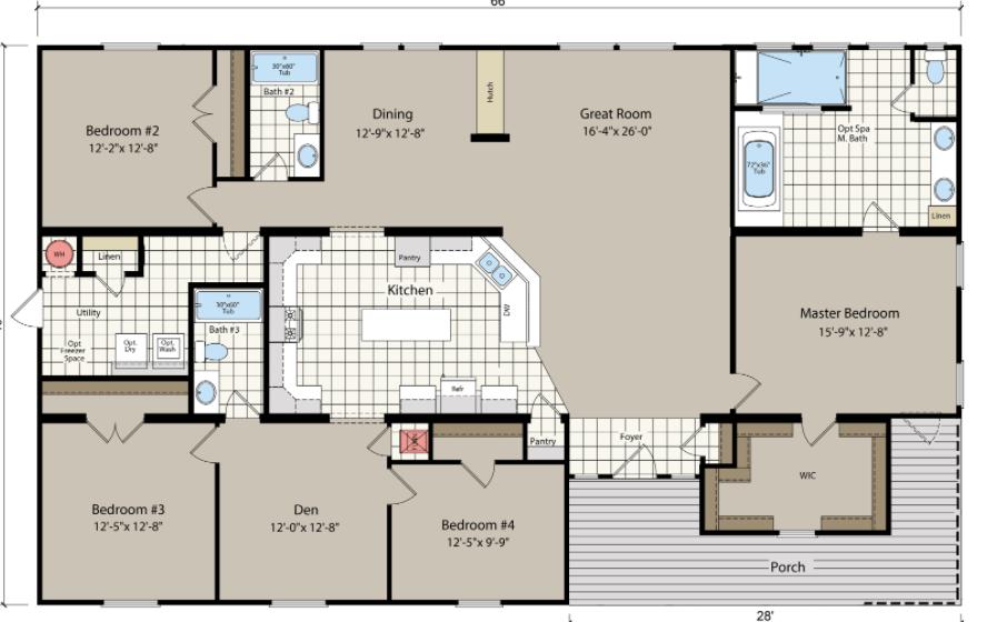 Avalanche floor plan