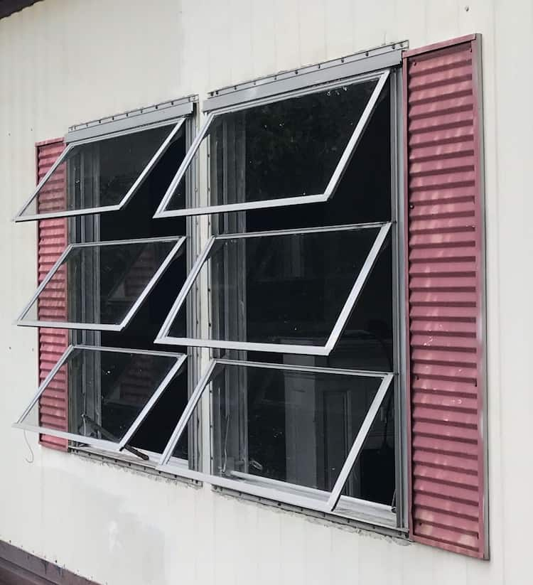 Awning Window In 1978 Single Wide Mobile Home