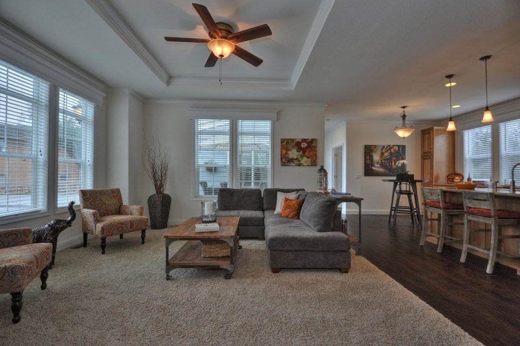 Balboa island living room