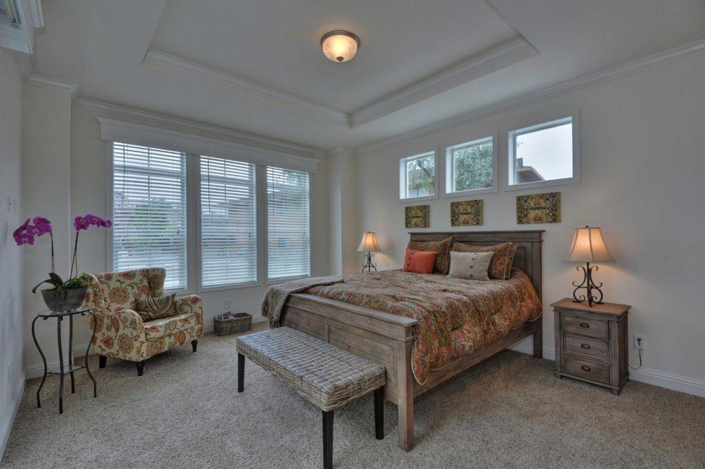 Balboa island master bedroom