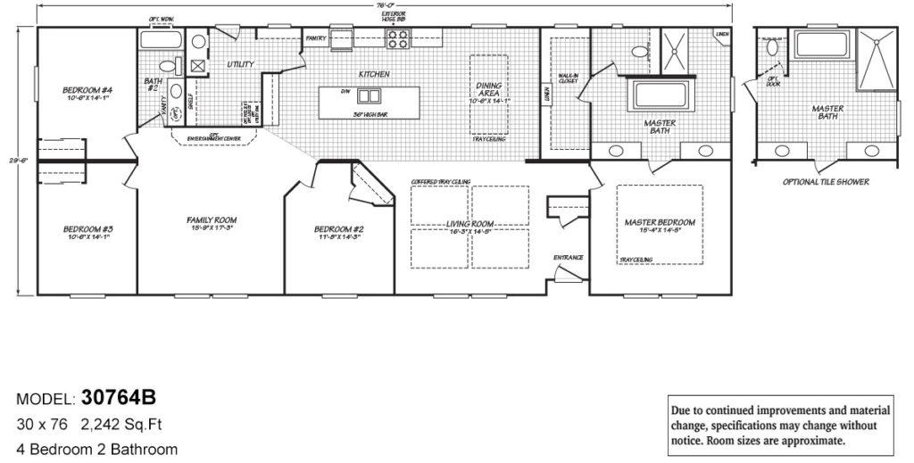 Barrington floor plan