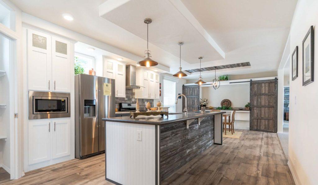 Barrington long view of kitchen