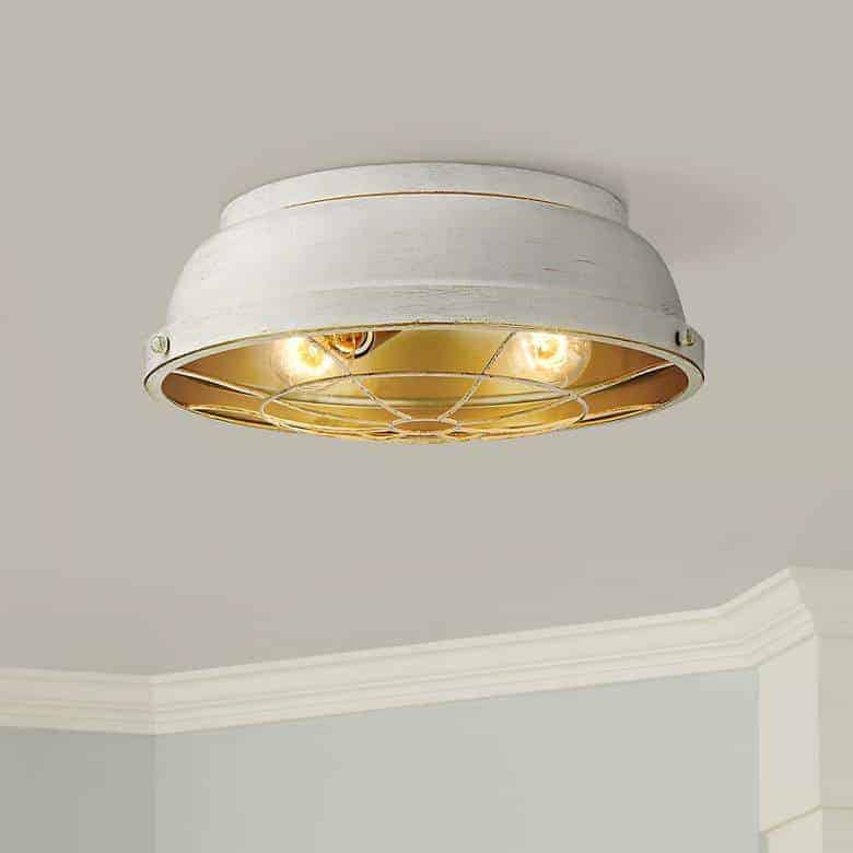 bartlett french white ceiling light