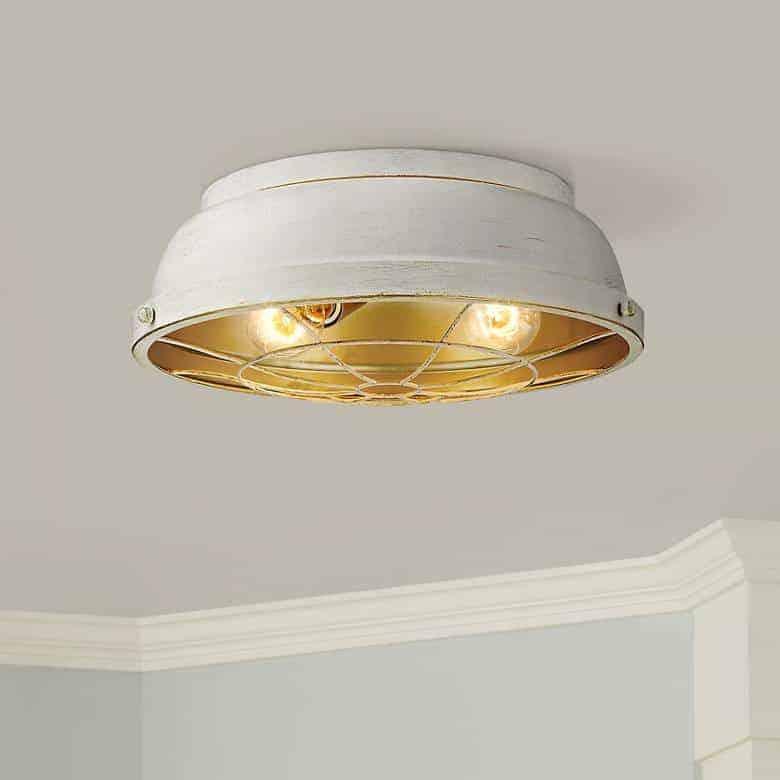 Bartlett french white ceiling light