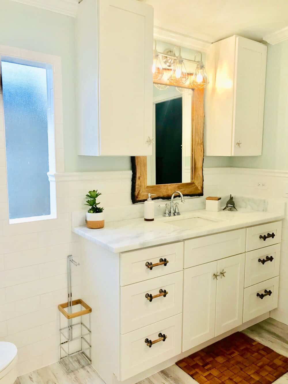 Bathroom After Remodel In 1988 Manufactured Home