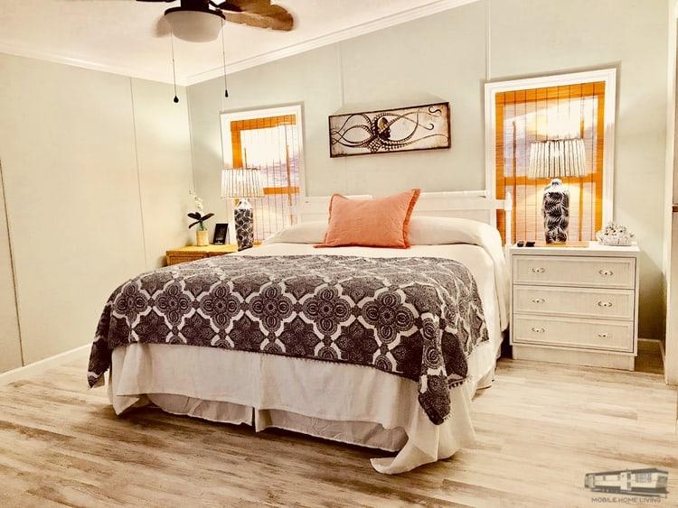 Beach cottage bedroom remodeled