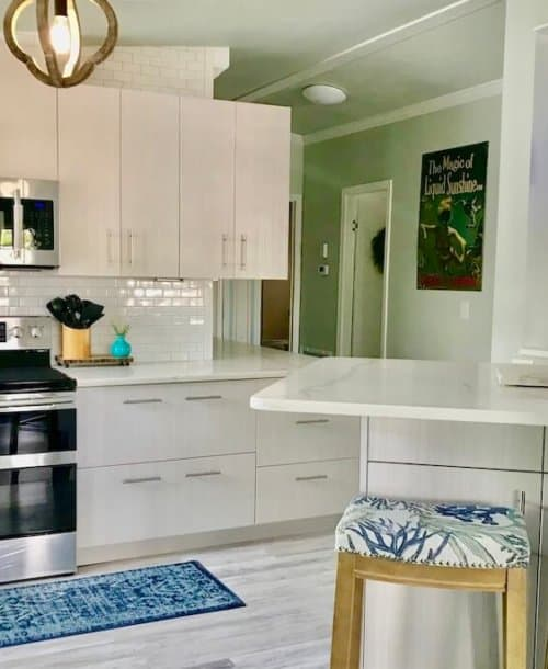 30 Gorgeous Mobile Home Kitchen Cabinet Colors