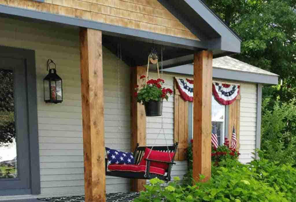 Beautiful Patriotic Manufactured Home