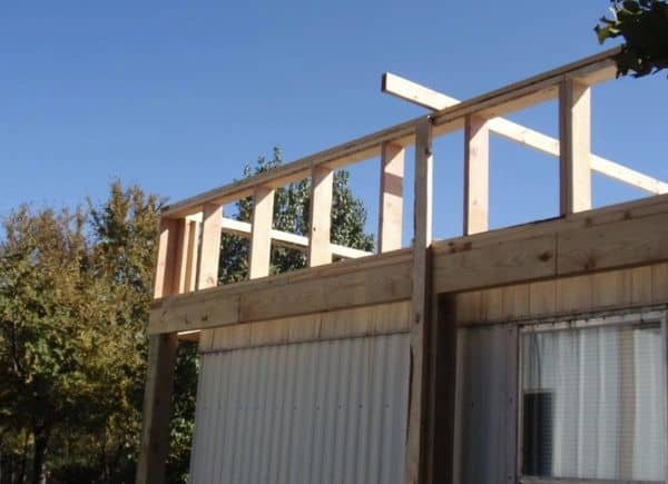 The Best Self-Supported Mobile Home Roof Over Designs 8