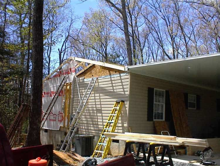 Building An Addition Onto A New Single Wide Manufactured Home