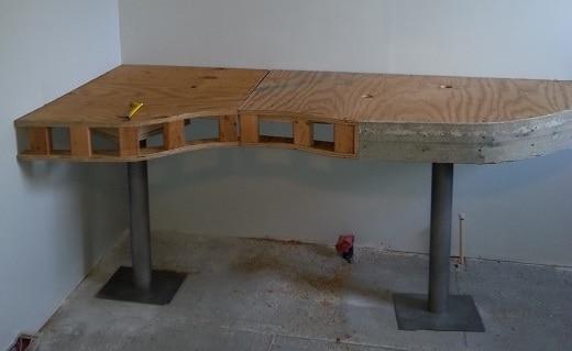Building The Bathroom Vanity