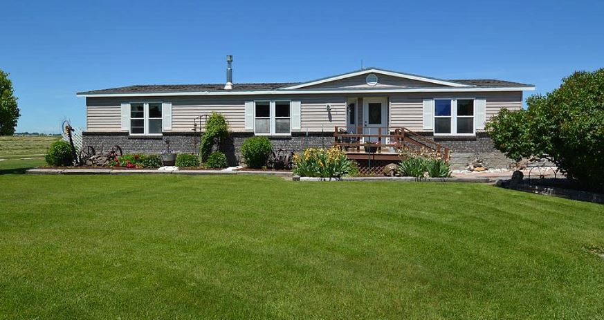 Buying A Mobile Home In Idaho Double Wide With Landscaping
