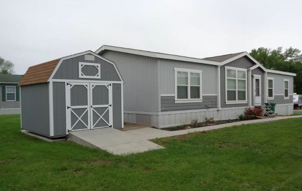 Buying a mobile home in kansas double wide with steps