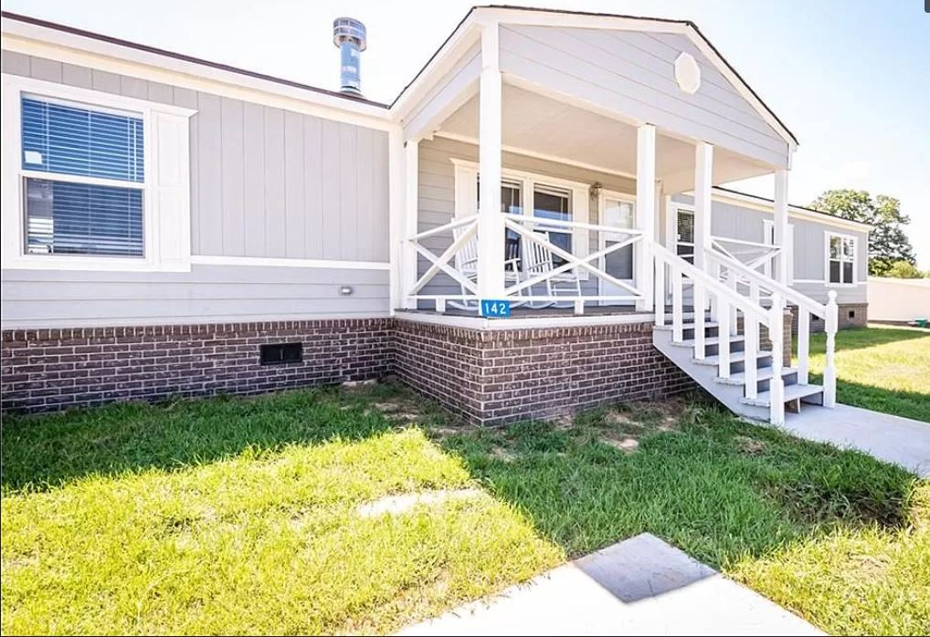 Buying a mobile home in louisiana home with porch