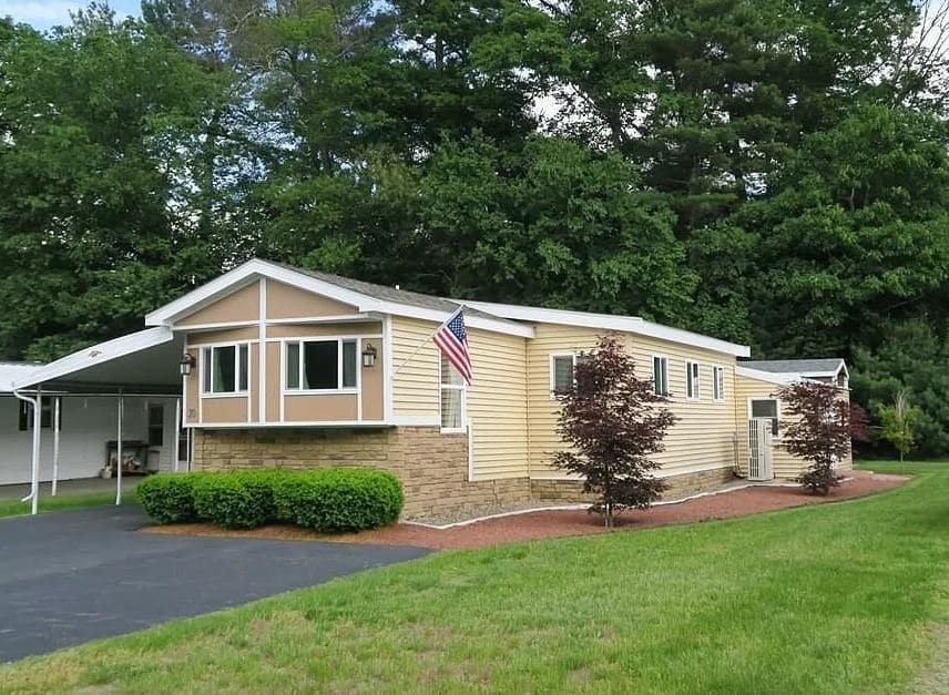 Buying a mobile home in massachusetts single wide