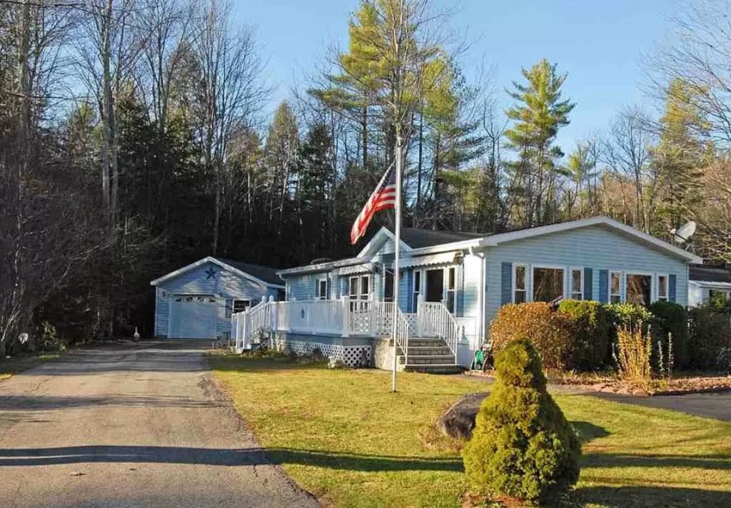 Buying a mobile home in new hampshire with garage